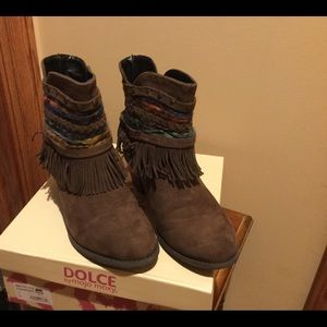 BNIB, DOLCE by mojo moxy, Brown Boots, Size 3